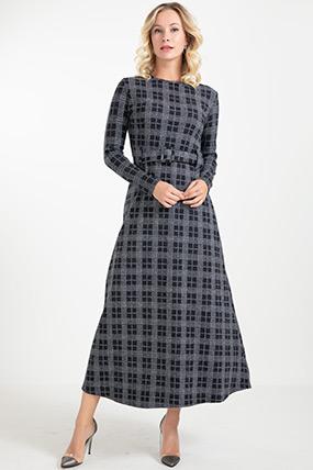 Kemerli Uzun Elbise-41034956263