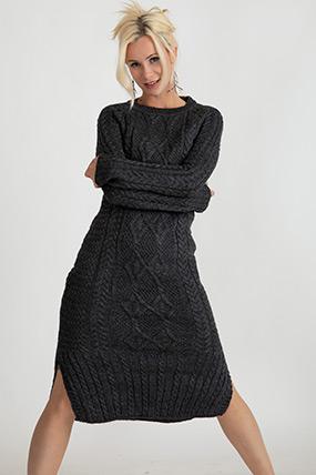 Triko Örme Elbise-5003142320