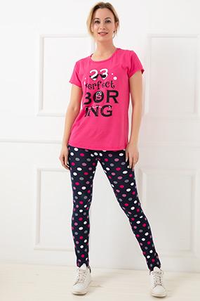 Puantiyeli Pijama Takımı
