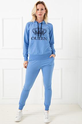 Queen Baskılı Bayan Eşofman Takımı