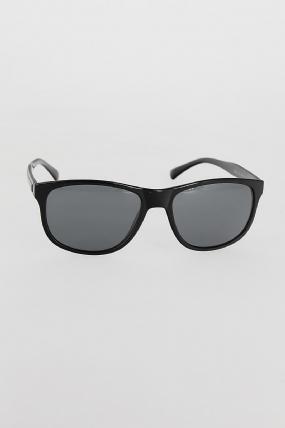 Siyah Renk Çerçeveli Koyu Gri Camlı Erkek Güneş Gözlüğü