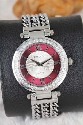 Ferrucci 2 Yıl Garantili Bayan Saat-LBS124