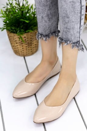 Alexa Krem Rugan Babet Ayakkabı-63291
