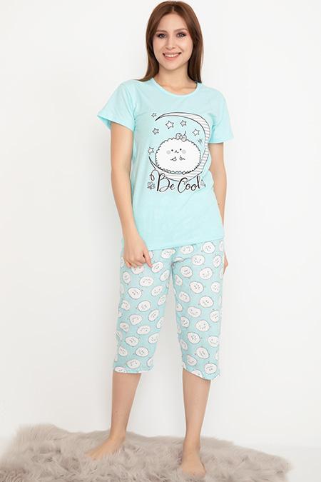 Kapri Pijama Takımı-41035004330
