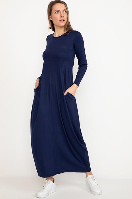 Gizli Cepli Elbise-41035007107
