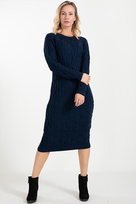 Triko Örme Elbise-5003142328