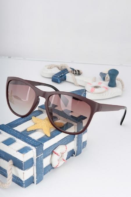 Clariss Marka Kahverengi Çerçeveli Güneş Gözlüğü-GG209