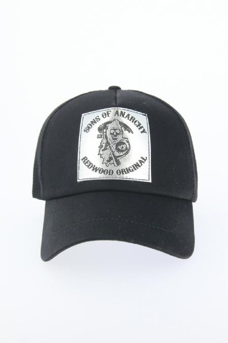 Siyah Renk Danger Tasarımlı Şapka-SPK118