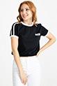 Baskılı T-Shirt / Siyah