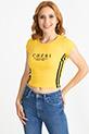 Baskılı T-Shirt / Sarı