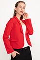 Kısa Ceket / Kırmızı