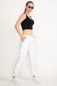 Kargo Cep Pantolon / Beyaz