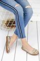Palimia Dore Cilt Babet Ayakkabı / Dore